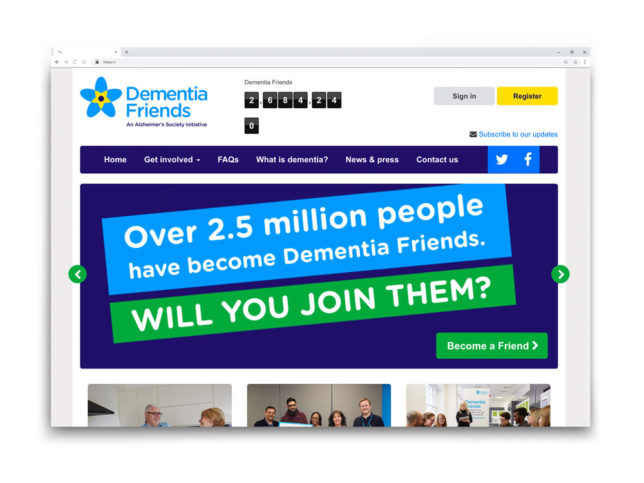 Dementia Friends Website